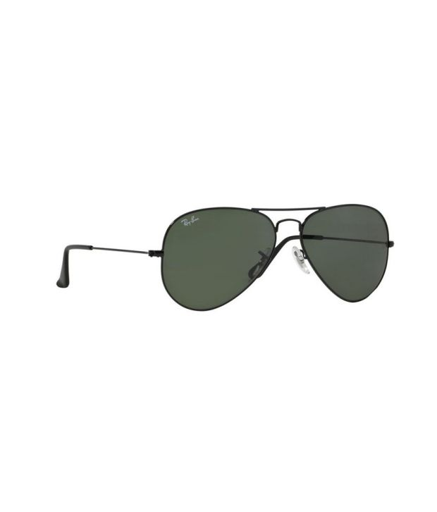ray ban 3025 58 14  Ray-Ban Green Aviator Sunglasses (RB3025 L2823 58-14) - Buy Ray ...