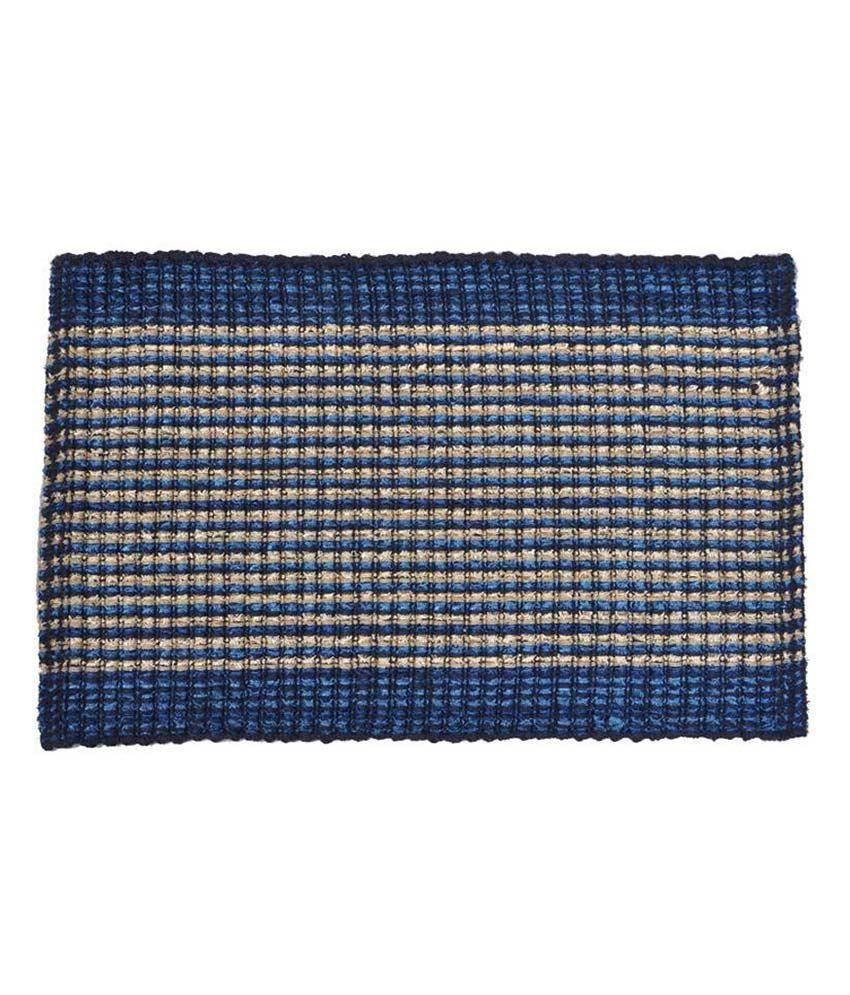 Kalash Multicolour Cotton Contemporary Floor Mat Buy
