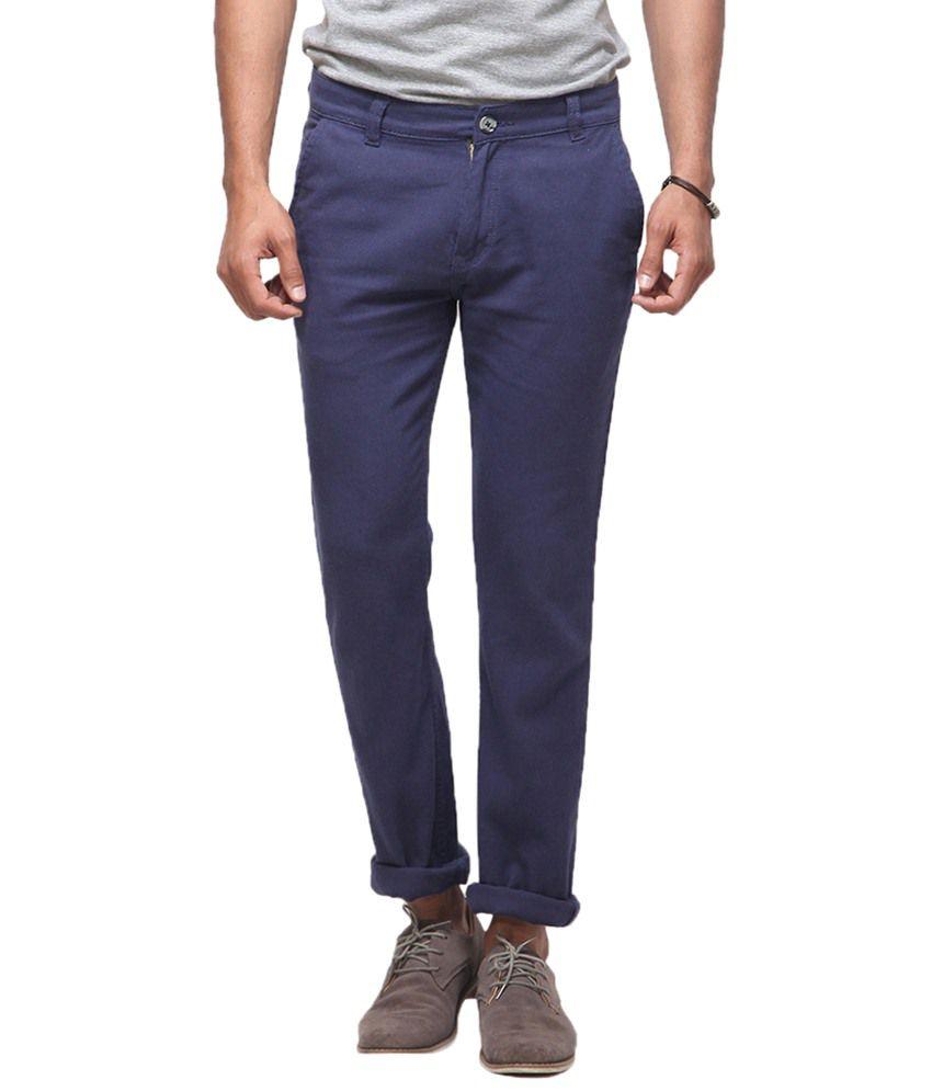 Yepme Refner Navy Blue Pant