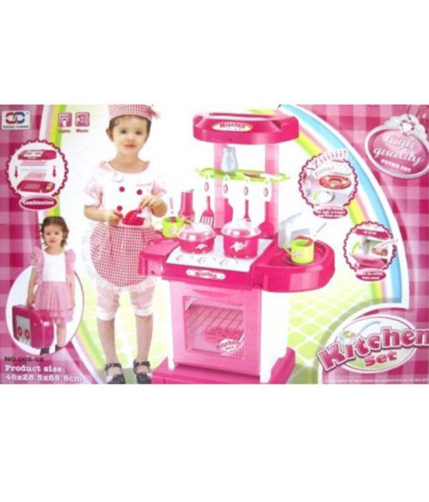 Azi 008 58 plastic kitchen set for kids questions and for Kitchen set 008 82