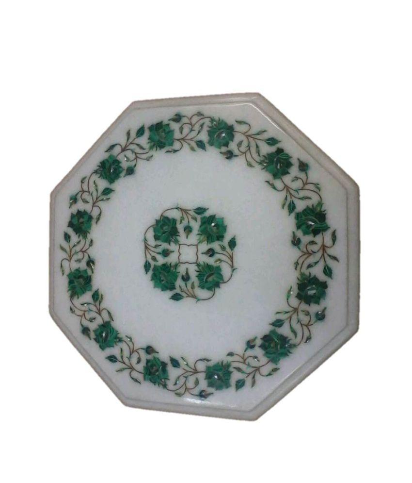 Marble Inlay Table Tops : Taj gallery marble inlay table tops buy