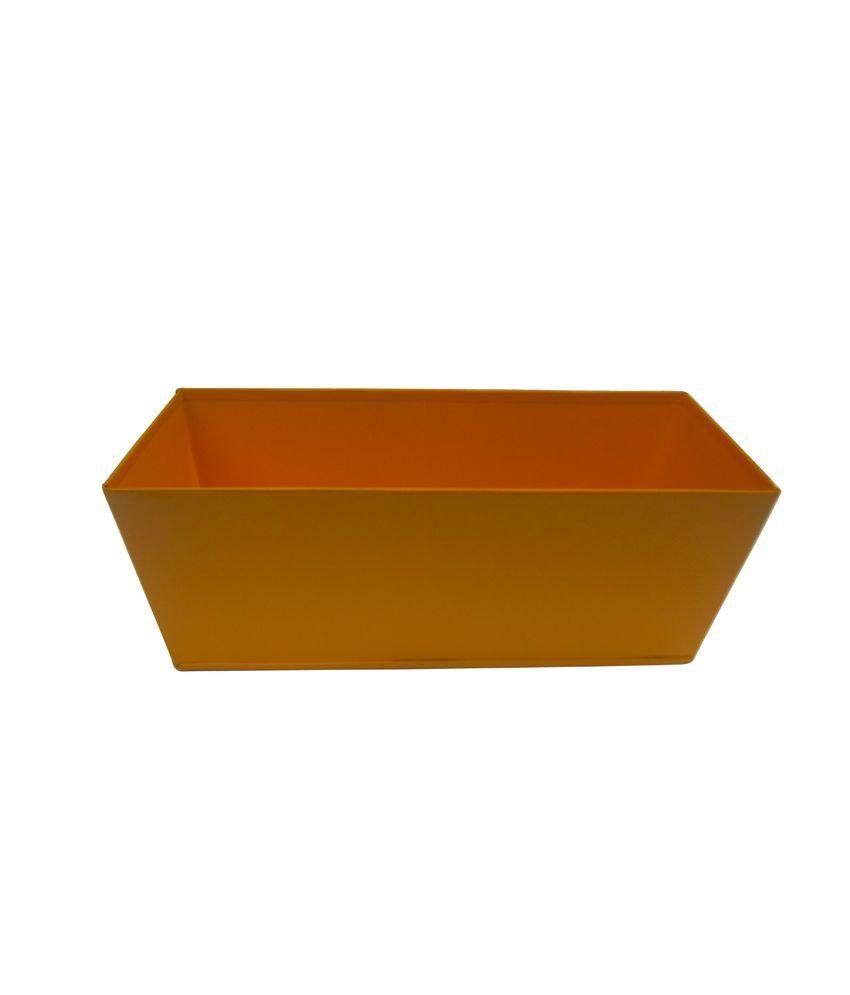 Green Gardenia Table Top Rectangular Box Planter Yellow Buy Green