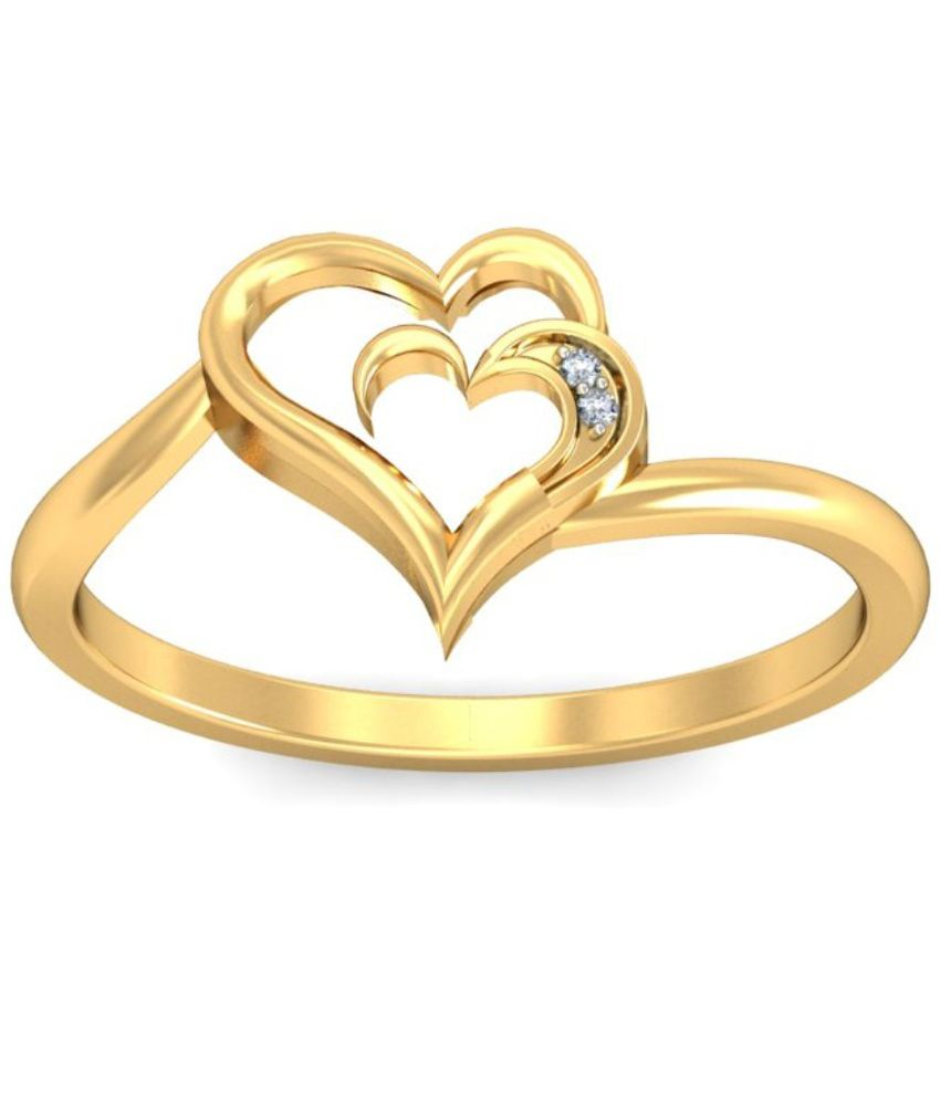 Demira Jewels 14kt Gold Ring 100%Certified: Buy Demira Jewels 14kt ...