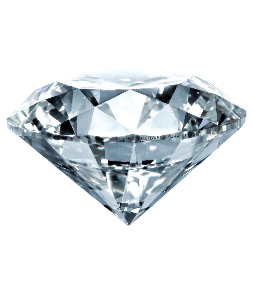 Divine Solitaires 0.28 Ct Vvs2 Loose Diamond