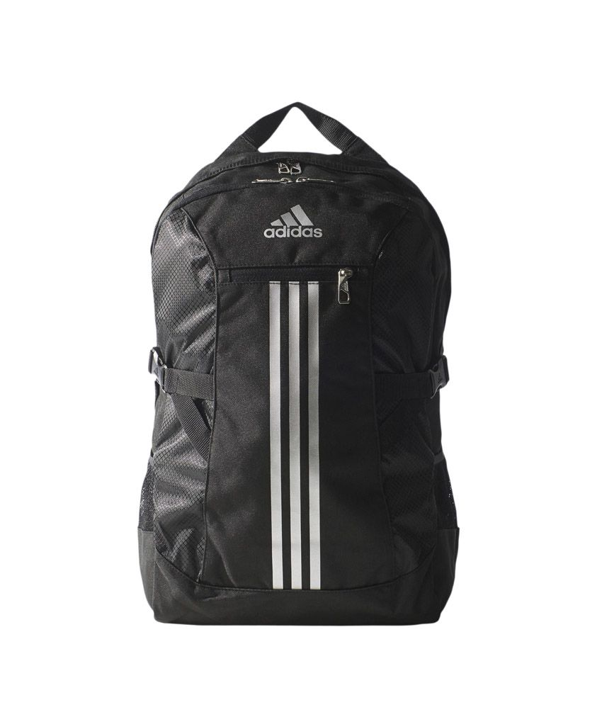5b0ee74ec0 Adidas Black Canvas Backpack - Buy Adidas Black Canvas Backpack Online at  Best Prices in India on Snapdeal