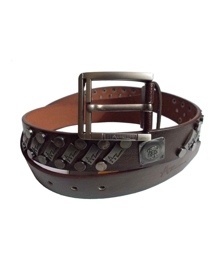 Ahsan Black Non Leather Single Casual Belt For Men
