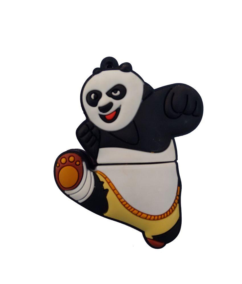 Dinosaur Drivers 8 GB Kung fu Panda Kick Designer Pen drive Fancy pendrive