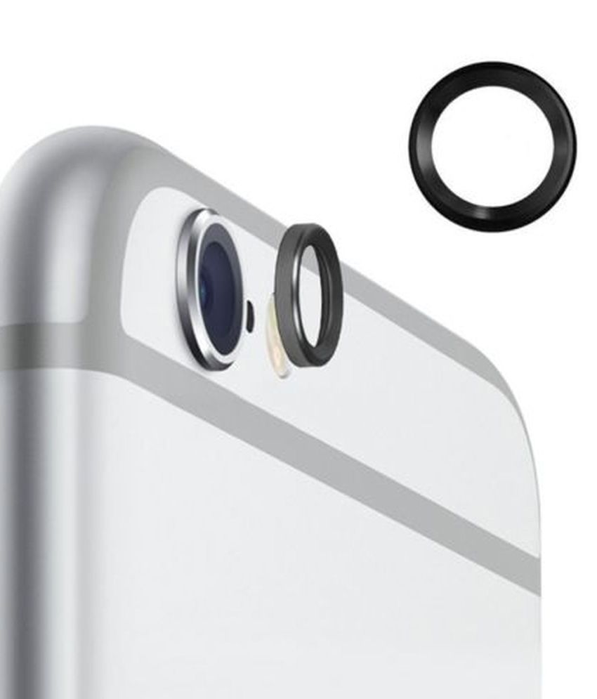 Techwich Camera Lens Metal Protection Ring For Apple Iphone 6/6 Plus - Black