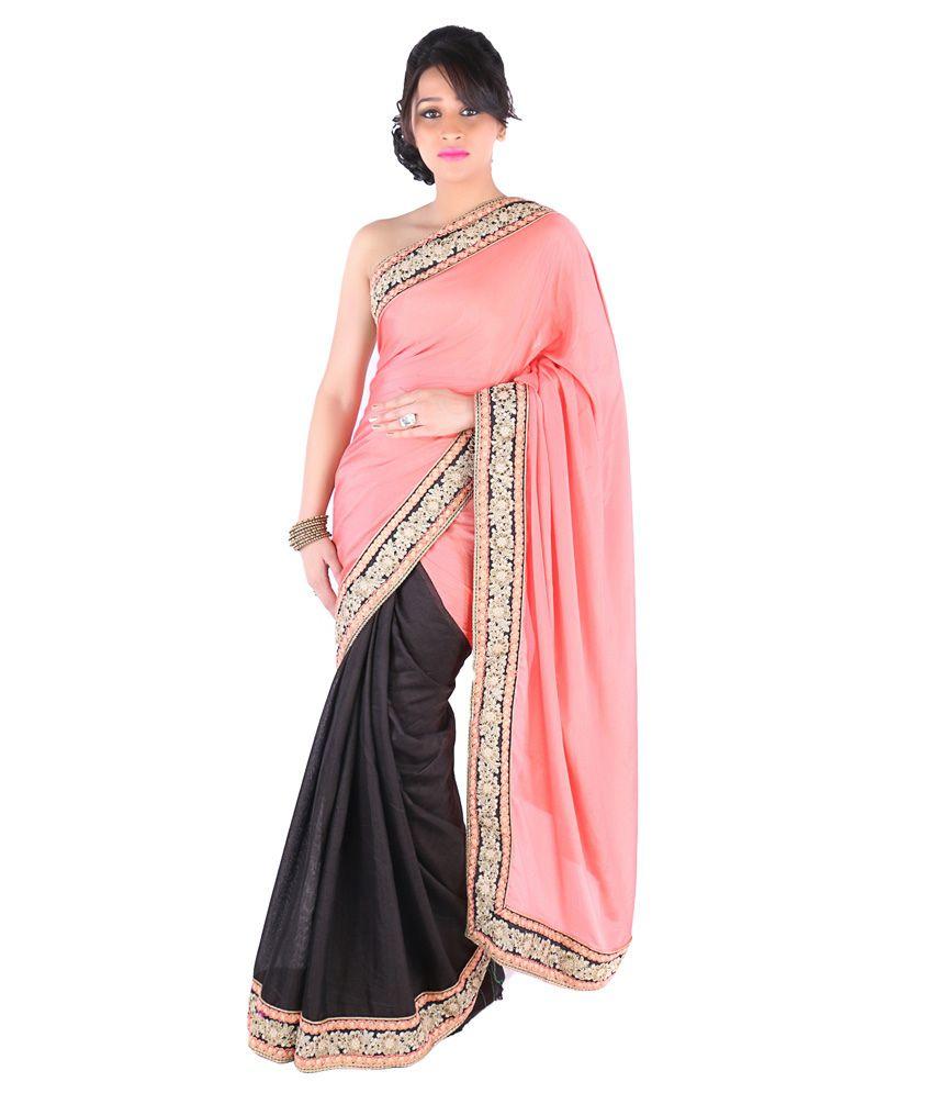 Suchi Fashion PeachPuff Cotton Saree