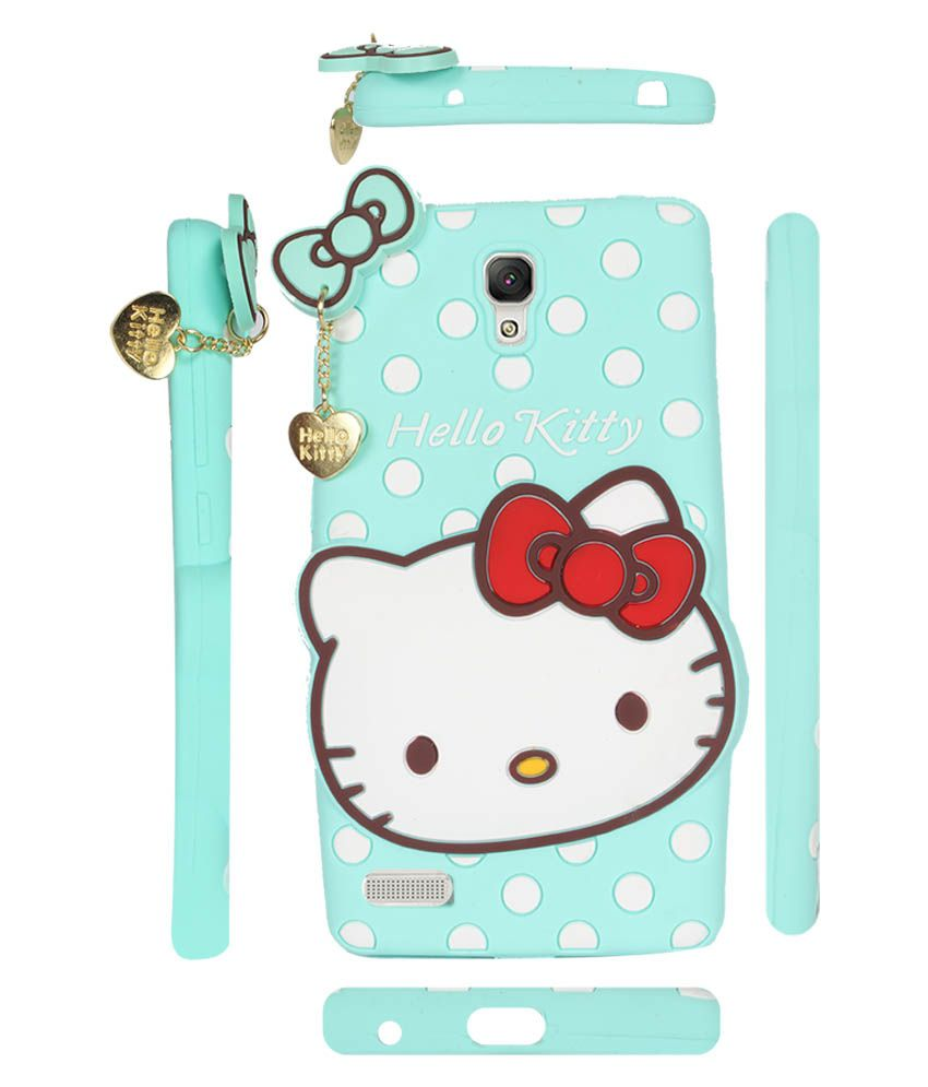 903b11815 Fuson Premium Hello Kitty Girly Designer Soft Silicon Back Case Cover For  Xaiomi Redmi Note / 4g - Light Green - Printed Back Covers Online at Low  Prices ...