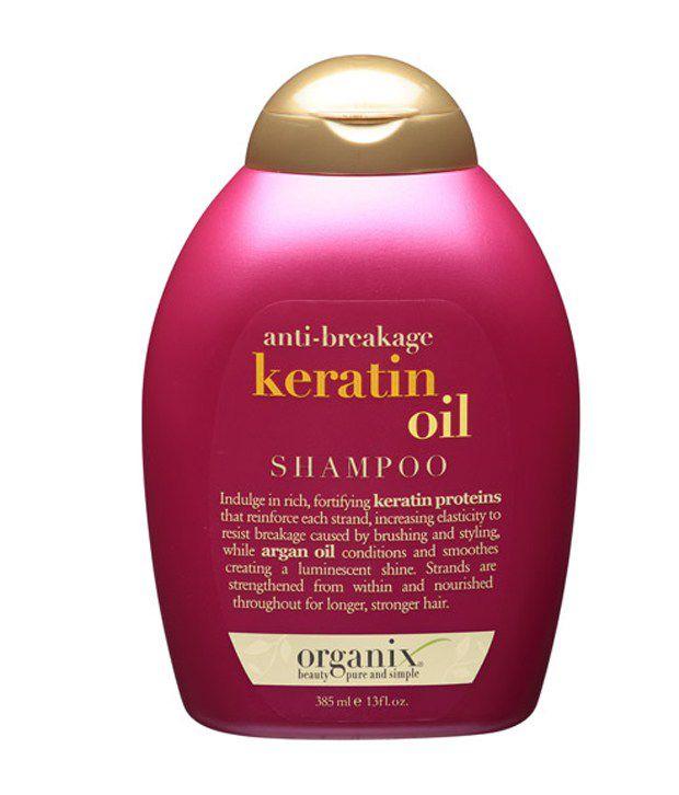 Is organix keratin oil shampoo sulfate free