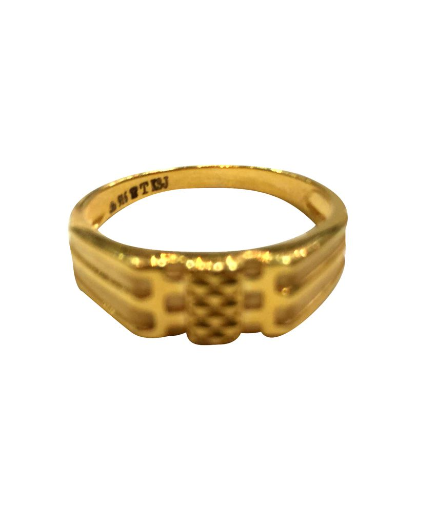 Khanna Sons Jewellers 22kt Gold Plated Ring