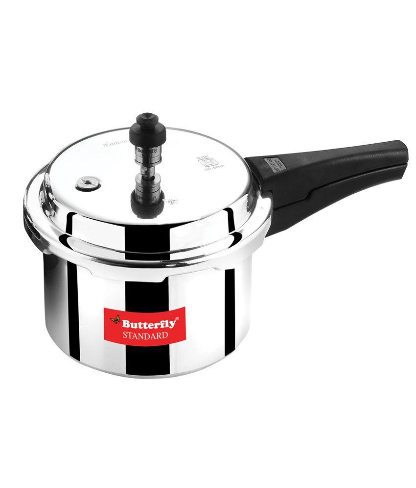 Butterfly Standard Plus Aluminium 5 L Pressure Cooker