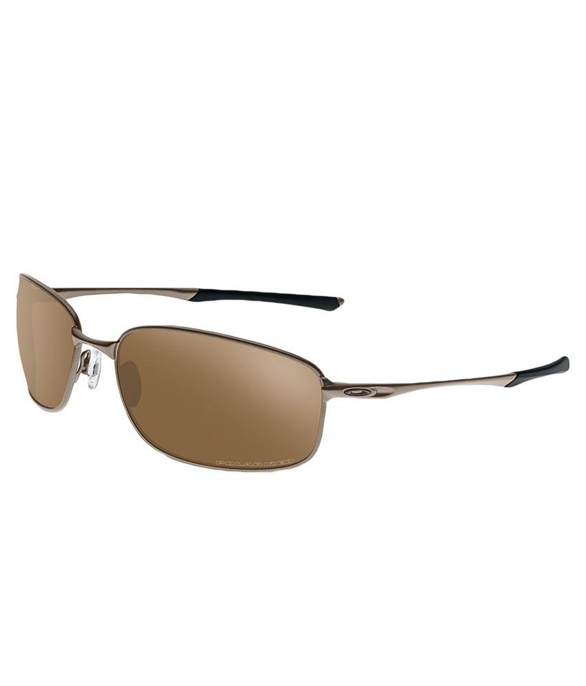 Oakley Oo4074-05 Medium Men Rectangle Sunglasses