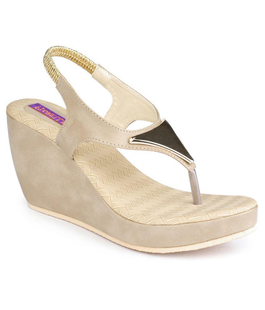 Fiorella Fine Beige Heeled Sandals