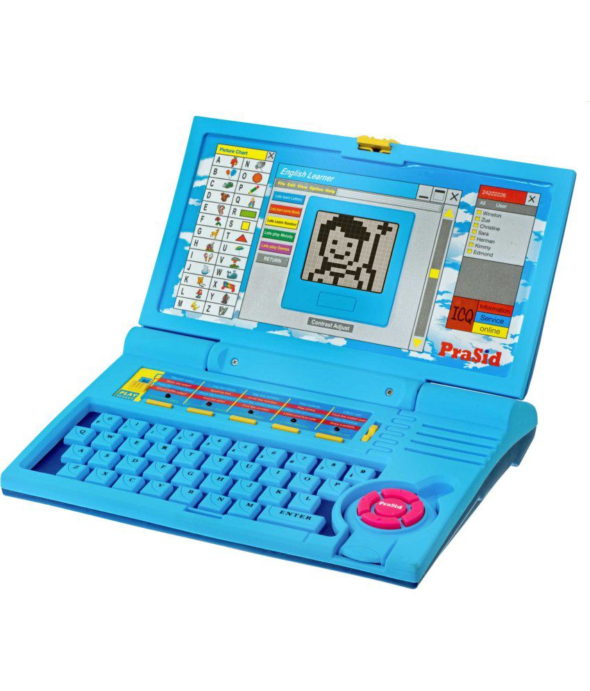 PraSid Kids English Learner Laptop - 20 Activities - Buy ...