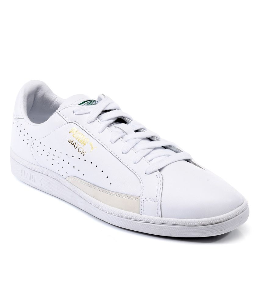 Puma White Sneaker Shoes - Buy Puma White Sneaker Shoes ...