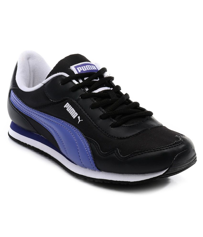 Puma Street Rider Black Sports Shoes Price In India- Buy Puma Street Rider Black Sports Shoes ...