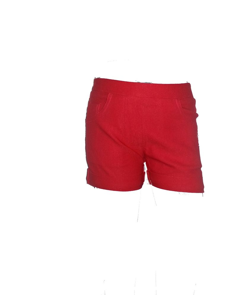 Ever Wear Imported Lam Lam Red color shorts