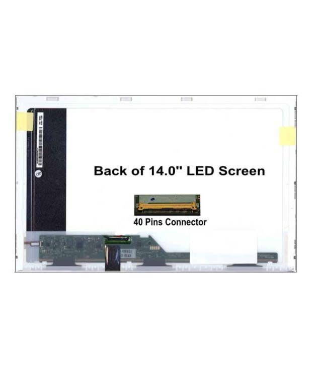 Fugen Laptop Internal 14 Inch Hd Led Lcd Screen For Hp Probook 4430s,  4440s, Hp 6530