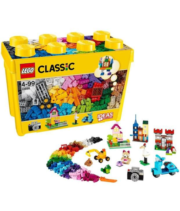 lego classic 10698 large creative brick box construction set buy rh snapdeal com