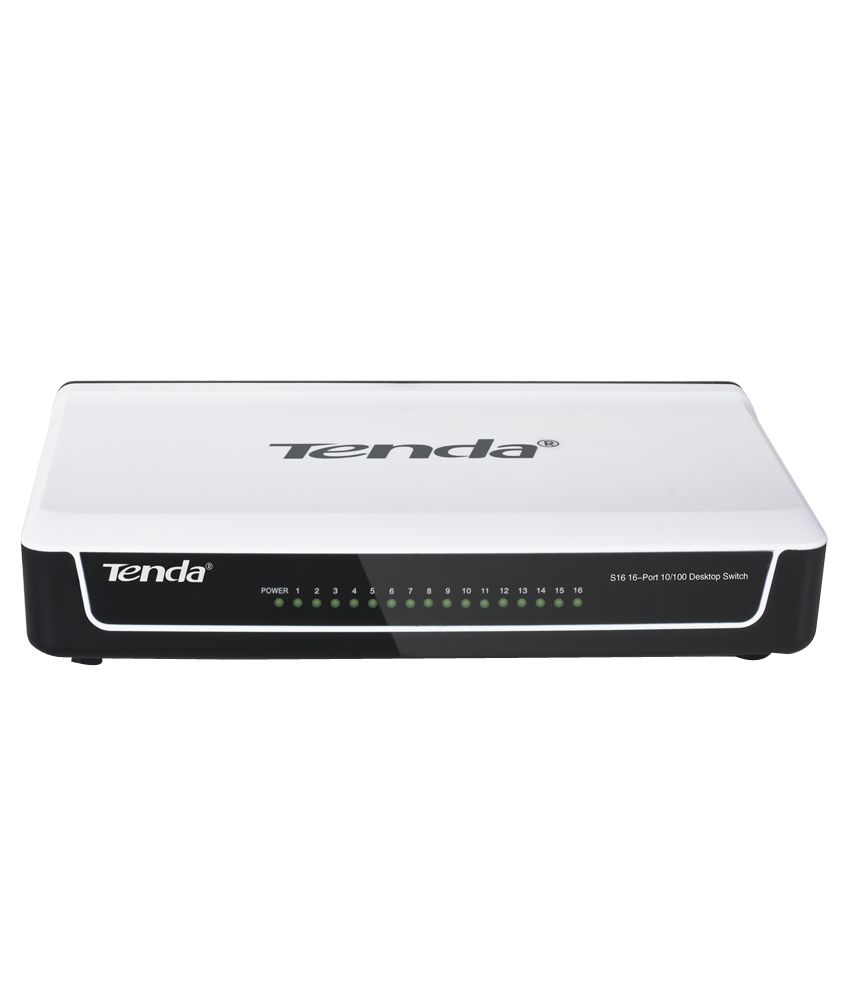 (TE-S16)Tenda 10/100 Mbps 16 Ports Ethernet Switch