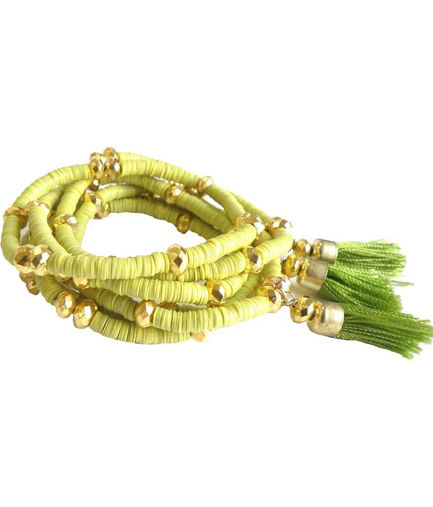 Chandani Green Designer Fashion Bracelet