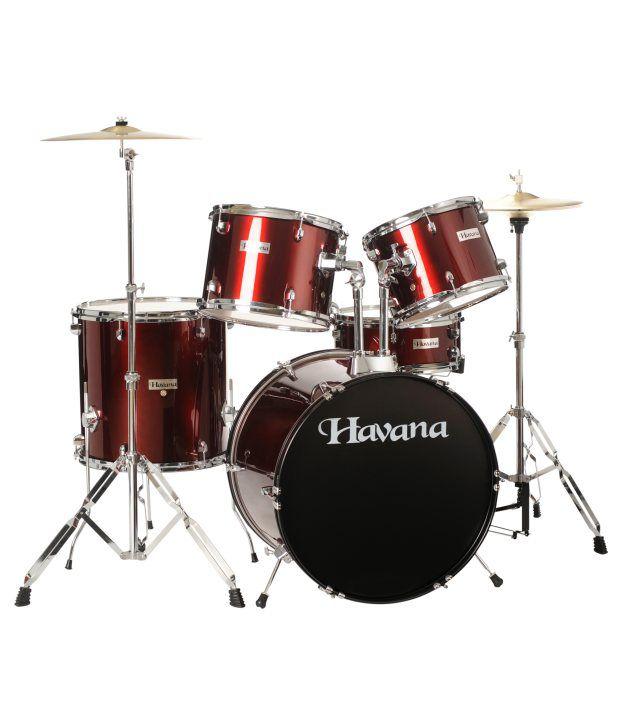 havana hv 522 wr 5pcs acoustic drum set full kit incl cymbals and throne buy havana hv 522. Black Bedroom Furniture Sets. Home Design Ideas