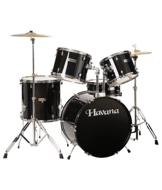 havana hv 522 bk 5pcs acoustic drum set full kit incl cymbals and throne buy havana hv 522. Black Bedroom Furniture Sets. Home Design Ideas