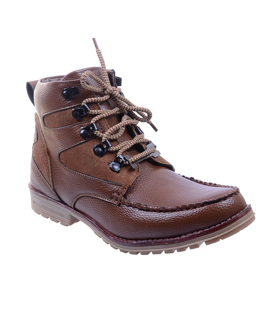 Porcupine Brown Boots