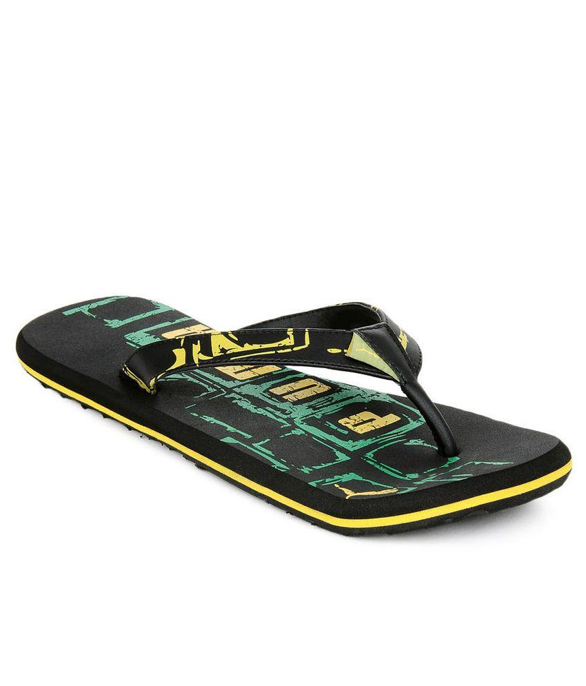 Puma Kongo Ii Ind. Black Flip Flops