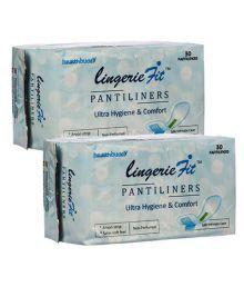 Healthbuddy Lingerie Fit Pantiliners, 2 Packs Of 30 Pcs Each