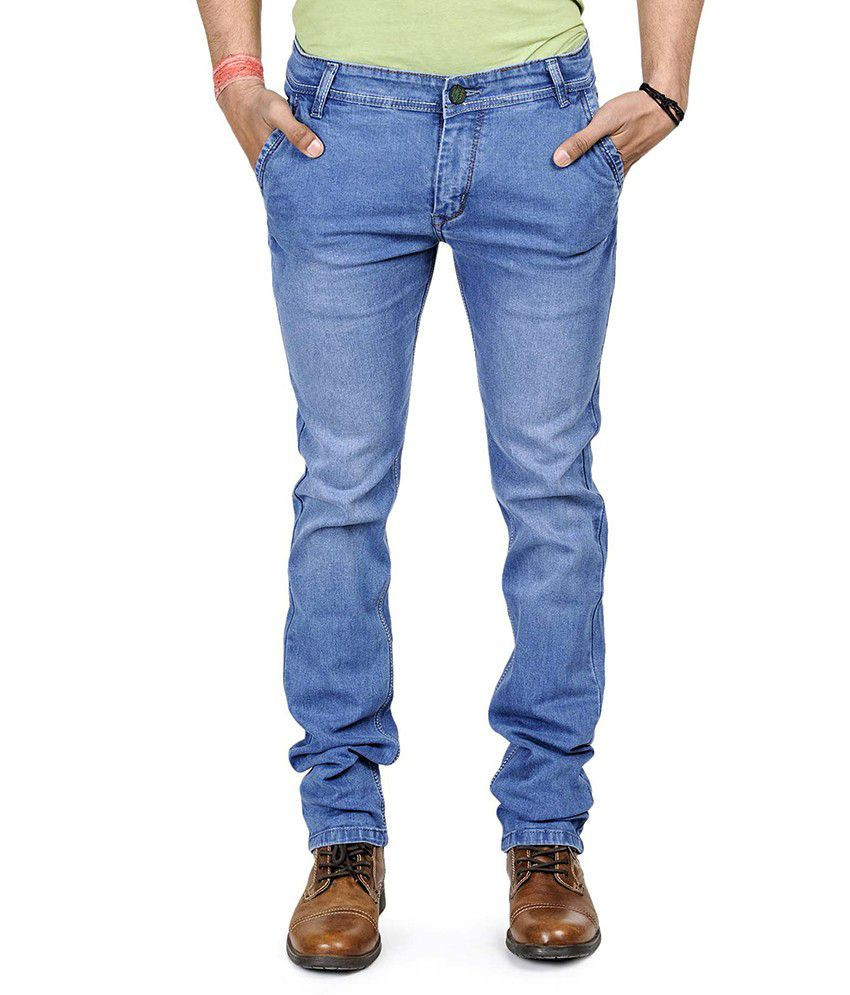 Eprilla Blue Slim Fit Men's Jeans