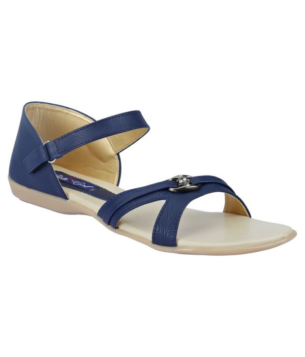 327b4b159f33 Party girl Blue Sandals Price in India- Buy Party girl Blue Sandals Online  at Snapdeal