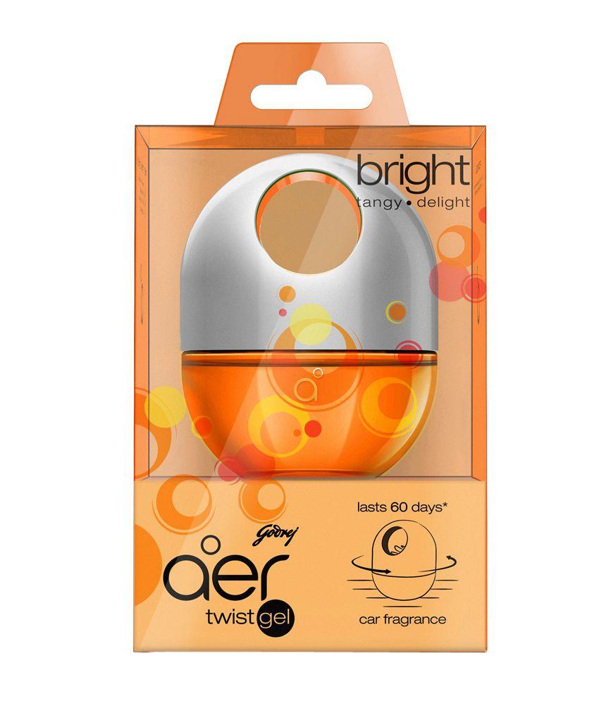 godrej aer twist car freshener bright tangy delight 45 g