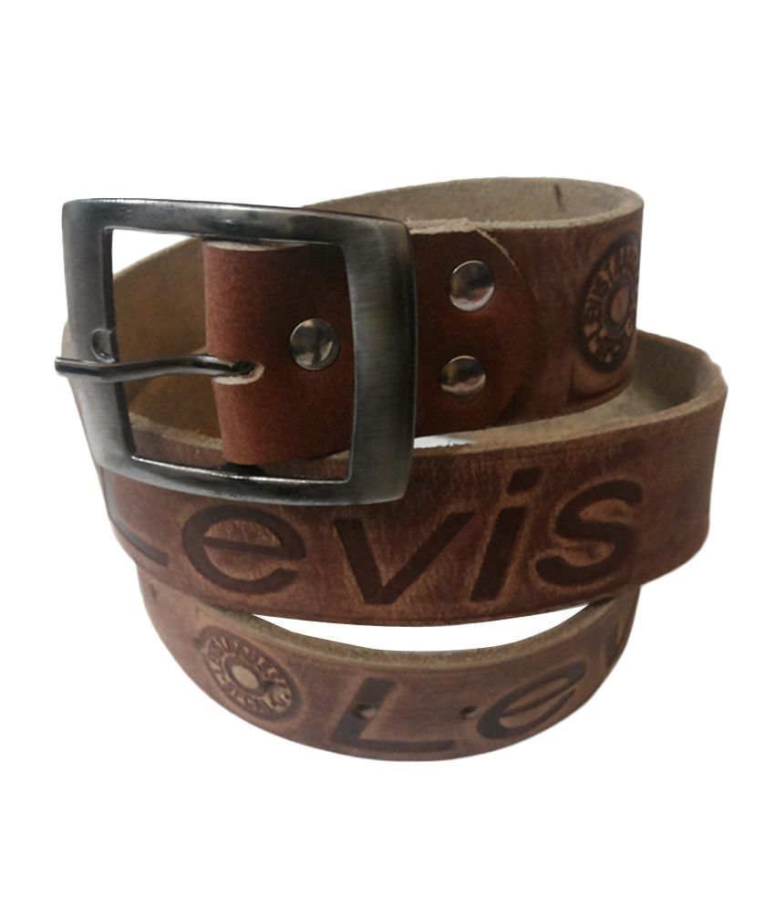 Levis Brown Leather Belt