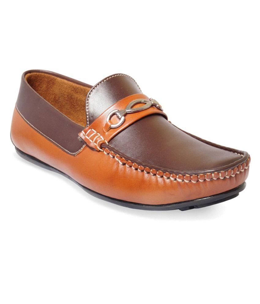 Adybird Brown Men Casual Shoes