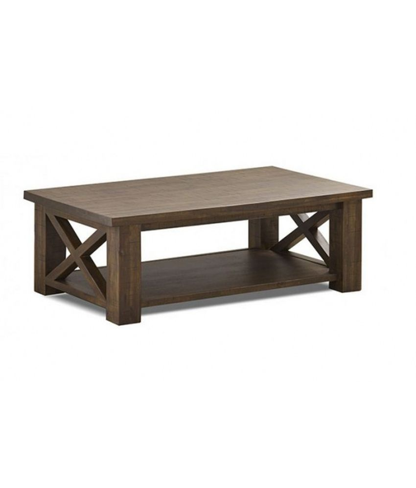 Anant Wooden Coffee And Center Table: Buy Online at Best ...
