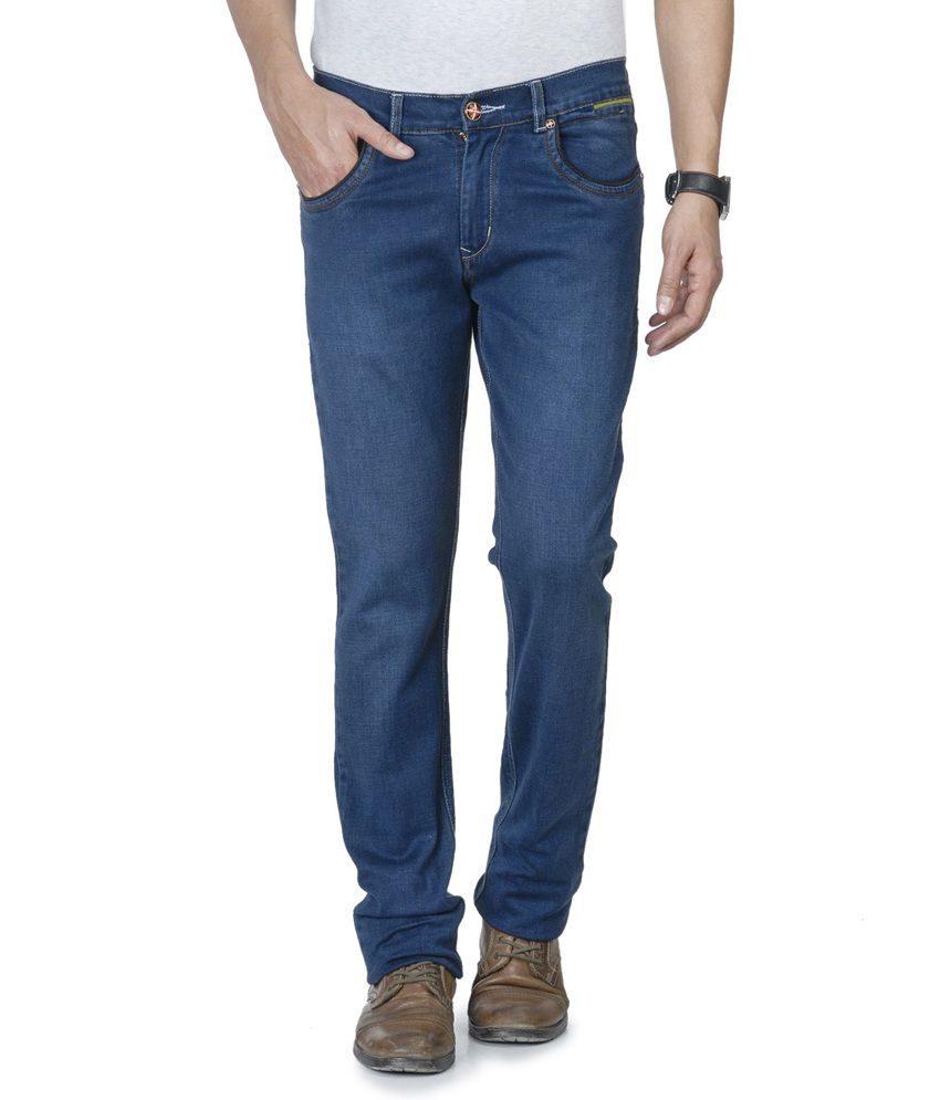 Wintage Trendy Blue Jeans
