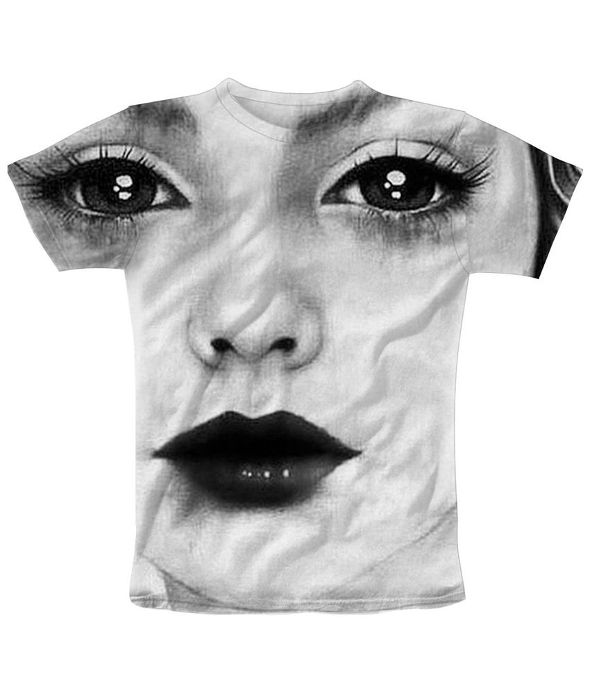 Freecultr Express Black & White Innocence Graphic T Shirt