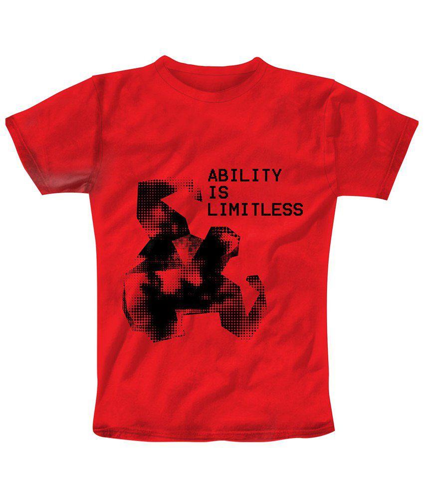 Freecultr Express Red Limitless T Shirt