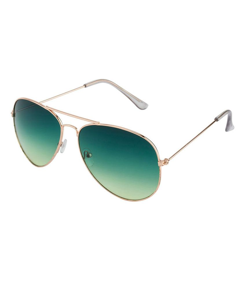 Oasis Golden Metal Aviator Sunglasses