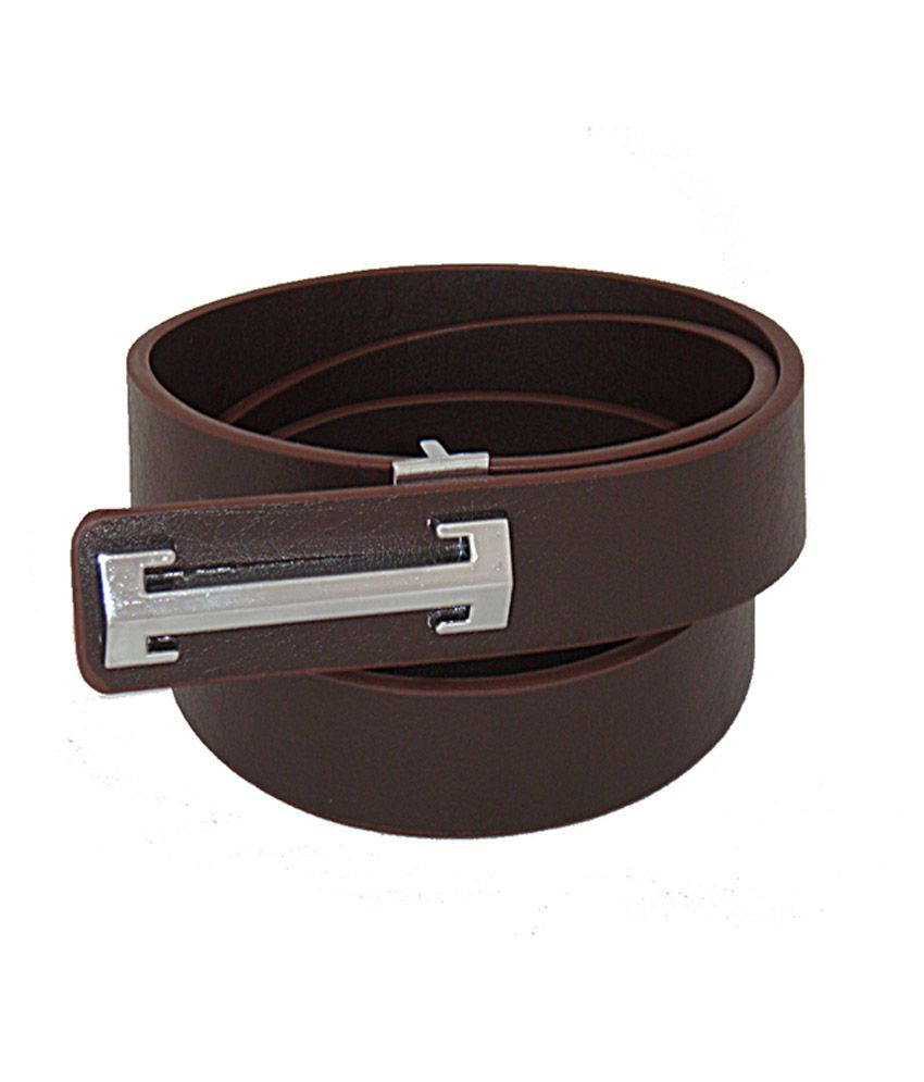 Sfa Silver Pin Buckle Formal Belt