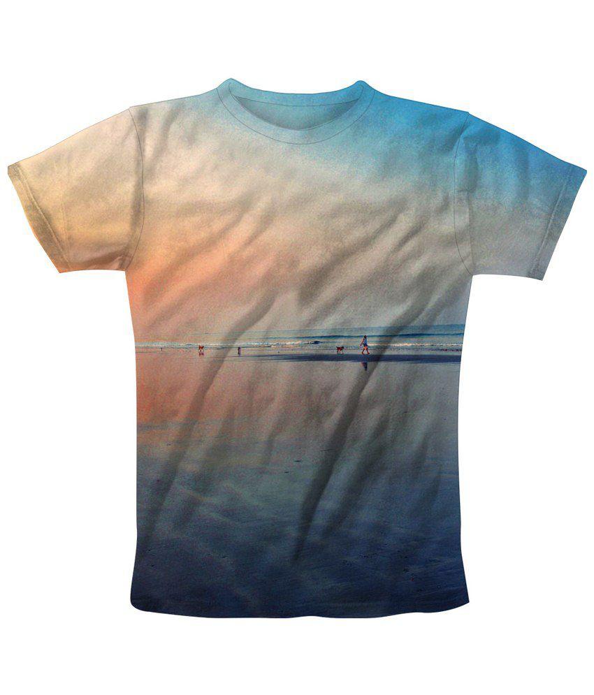 Freecultr Express Blue T Shirt