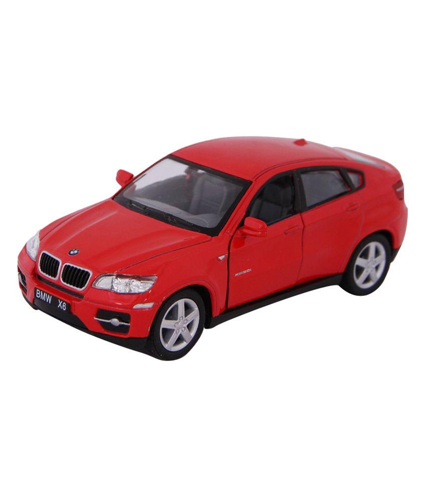 Bmw X6 Prices: Kinsmart Die-Cast Metal BMW X6 Red