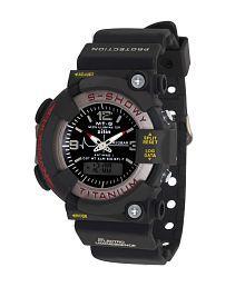 ADAMO bg-admtglargeb_voi Silicon Analog-Digital Men's Watch