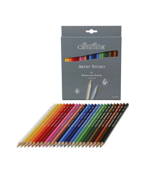 Cretacolor Artists Studio Line Watercolor Pencil Set Of 24 Buy