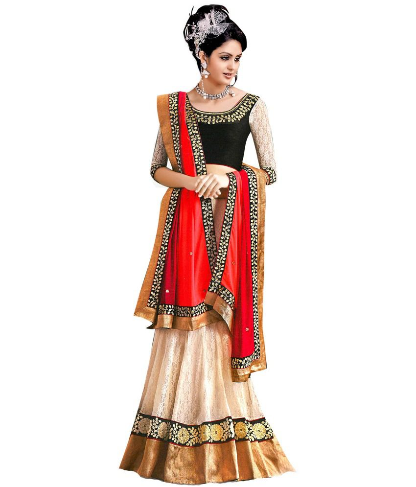 Snapdeal Lehenga Saree below 1000 rupees