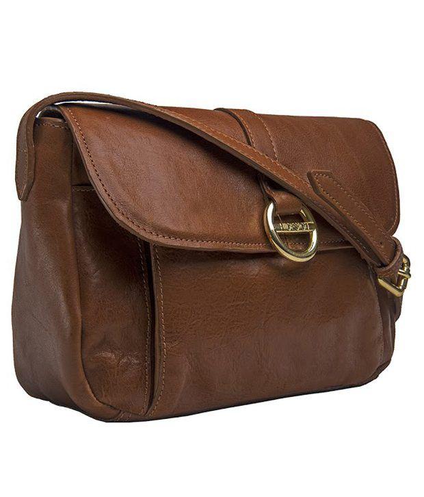 eeea38cb3a Hidesign HEMERA 02 Tan Sling Bag - Buy Hidesign HEMERA 02 Tan Sling Bag  Online at Best Prices in India on Snapdeal