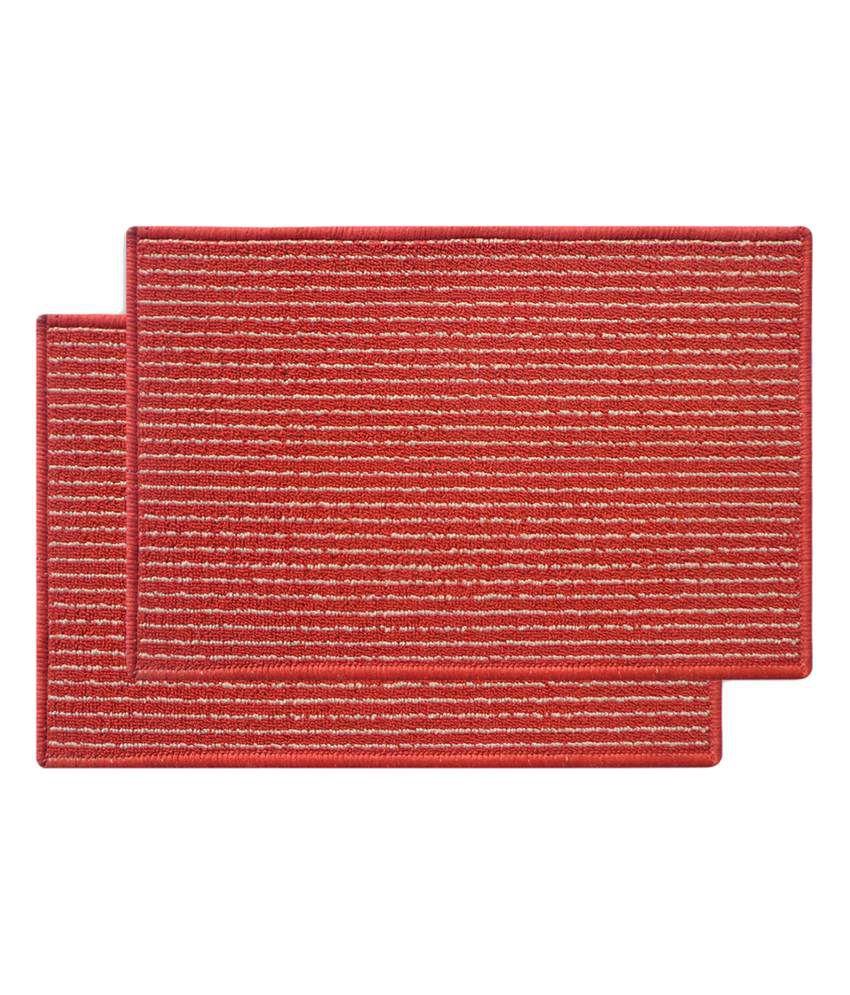 Status orange nylon floor mat best price in india on 24th january 2018 dealtuno - Orange kitchen floor mats ...